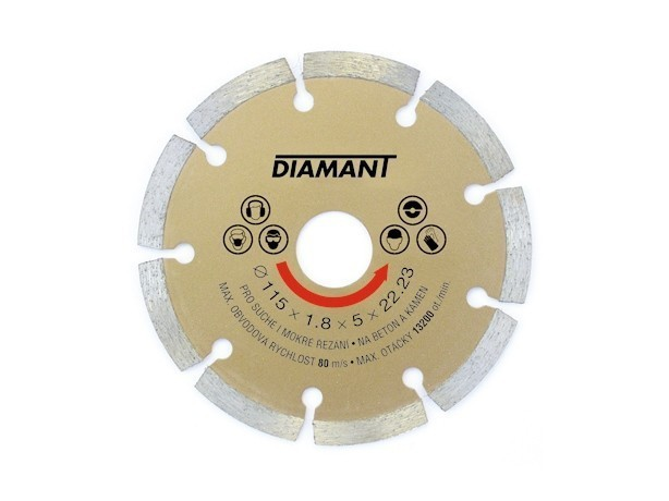kotouč Diamant segment 125mm